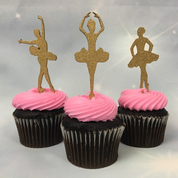 Ballerina Cupcake Topper, Ballerina Party, Ballerina Birthday, Ballerina Cake Topper, Ballerina Party Decoration, Ballerina Cupcake
