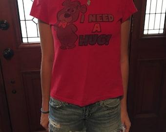 I need a hug- Boo Boo Bear