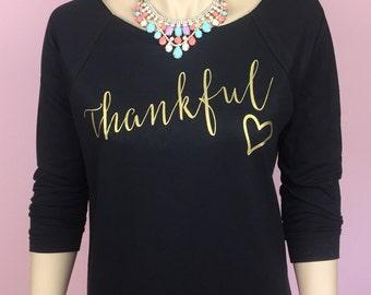 Thanksgiving Shirt. Thankful Shirt. Women's Thanksgiving Shirt. Women's Thankful Shirt. Thanksgiving. Thankful.