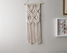 Macrame Patterns/Macrame Pattern/ Macrame Wall Hanging Pattern/Wall Hanging/Modern Macrame/Pattern/DIY/Craft/Title: Double X