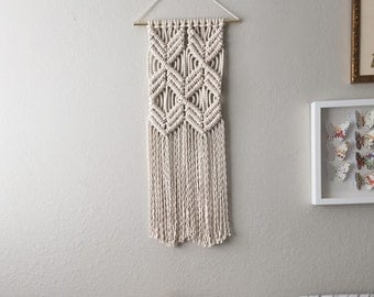 Macrame Patterns/Macrame Pattern/ Macrame Wall Hanging Pattern/Wall Hanging/Modern Macrame/Pattern/DIY/Craft/Name: Double X