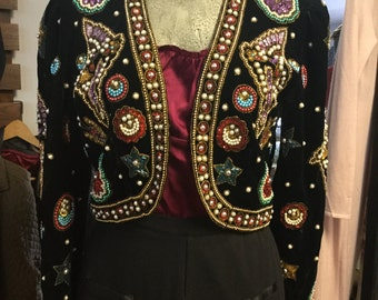 Stunning Vintage Bolero Jacket