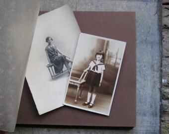 Un album photo Français vintage