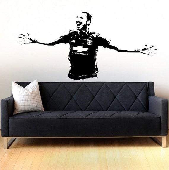 items similar to zlatan ibrahimovic soccer player. Black Bedroom Furniture Sets. Home Design Ideas