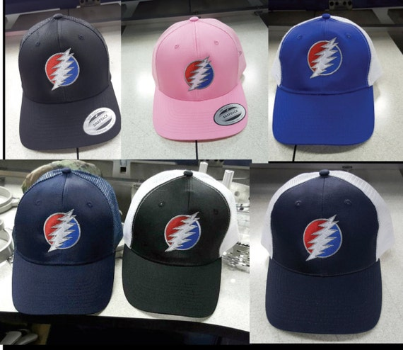 Grateful Dead Trucker Hat: Dead & CO. Grateful Dead Baseball Trucker Caps Dead And