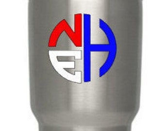 Monogram Yeti Rambler Tumbler Decal, Great Gifts, Groomsmen, Bridesmaid, Monogram Decal, Vinyl Monogram, Vinyl Decal, Vinyl Sticker