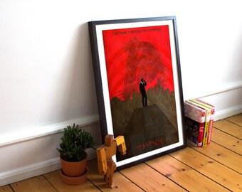Daredevil Poster - Wall Art - Matt Murdock - Hells Kitchen (Available In Many Sizes)
