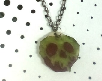 Evil Queen Snow white Poison Apple Necklace