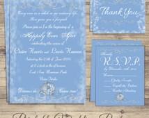 Cinderella Wedding Invitation, Fairytale Wedding Invitation, Cinderella Save the Date, Cinderella Wedding Invitations, birthday card