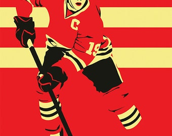 Chicago Blackhawks A3 print