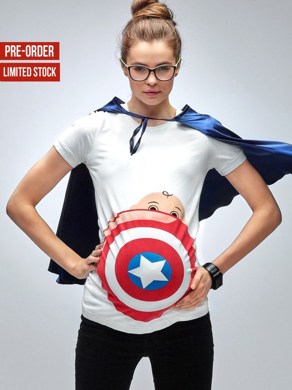 Superhero Maternity Halloween New Captain Mamagamaworld