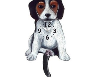 Wag On Wall Clock Etsy