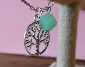 Free Shipping. Tree of life silver chain bracelet