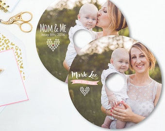 Studio CD DVD Label Template - Mothers Day Photography - Family Photography Template - Photoshop Templates - D003 - instant download