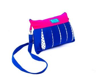"""Everyday messenger bag """"Ami"""" - unique shoulder bag"""