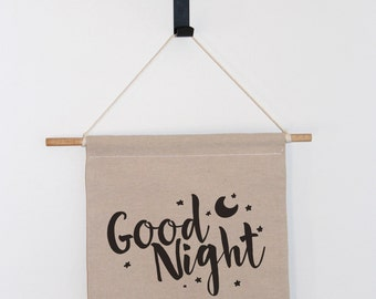 Good Night Wall Banner