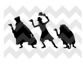 Hitch Hiking Ghosts Magic Band Decal