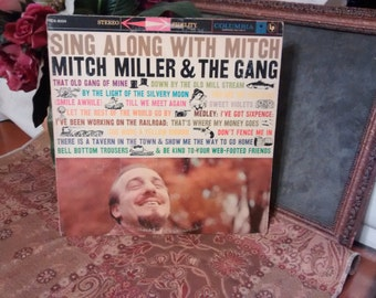 MITCH MILLER & The Gang , LP Sing Along With Mitch, vintage, retro, music, album, audio, collectibles