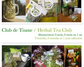 Hop Herbal Tea Club / Adhesion /3 months / 6 months /  1 year