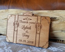 Wedding Thank You Gifts Unusual : Wood thank you cards unique thank you gifts rustic thank you cards ...