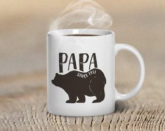 Coffee Mug, Papa Bear Mug, Christmas Gift for Dads, Christmas Gifts for Dad, Papa Bear Gift, Gift Idea for Dad, Gift Ideas for Dads Bear Mug