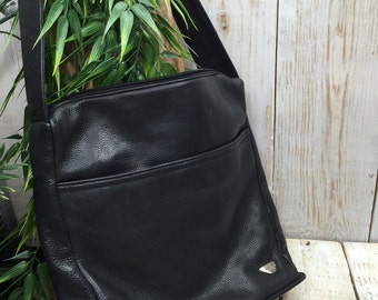 Dockers Purse, Dockers Leather Bag, Leather Shoulder Bag, Leather Tote, Soft Leather Bag, Dockers Bag, Dockers Handbag, Everyday Bag