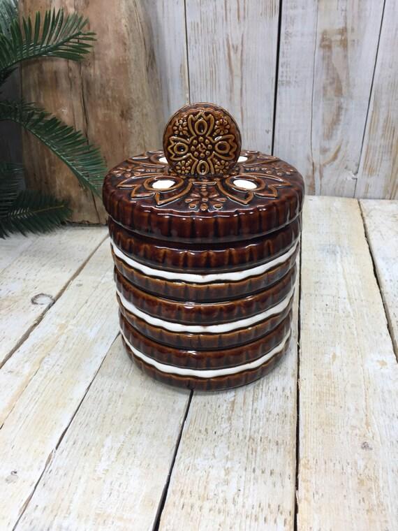 Vintage Cookie Jars Ceramic Cookie Jar Cookies Jar Kitchen