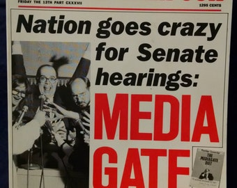 The Harvard Lampoon Presents Mediagate - 1988