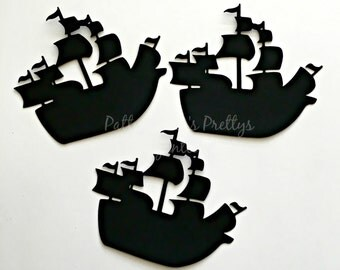 Pirate Ship Die Cuts