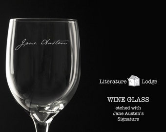 Wine Glass: Jane Austen