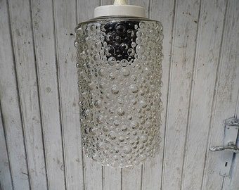 Bubble pendant lamp - 70s - retro bubble glass lamp
