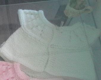 White Sparkle Baby Top.
