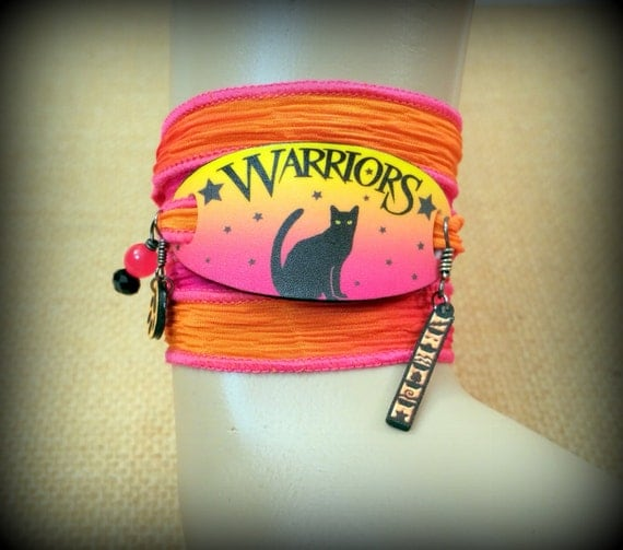 Warriors Book Series Review: Warrior Cats Bracelet Wrap Bracelet Warrior Cats By