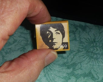 PAUL McCARTNEY CALENDAR 1969 Dollhouse Miniature Book