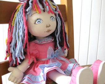 Cloth doll 19 inches.