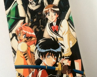 EscaFlowne Recycled Anime VHS Box Journal or Notebook, Anime Journal or Notebook, Sketchbook, Unique Journal, Kawaii Journal or Notebook