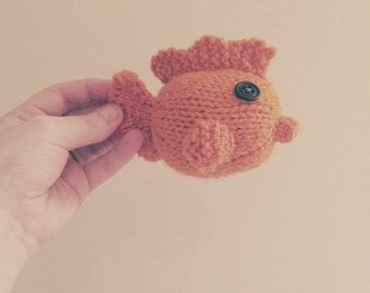 Knit Goldfish