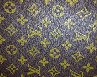 LV louis vuitton inspired upholstery fabric