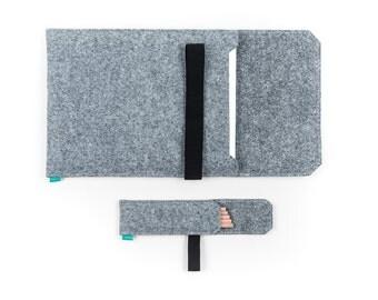Kindle case, kindle paperwhite cover, kindle sleeve, ebook cover, felt ebook reader sleeve, Gopher