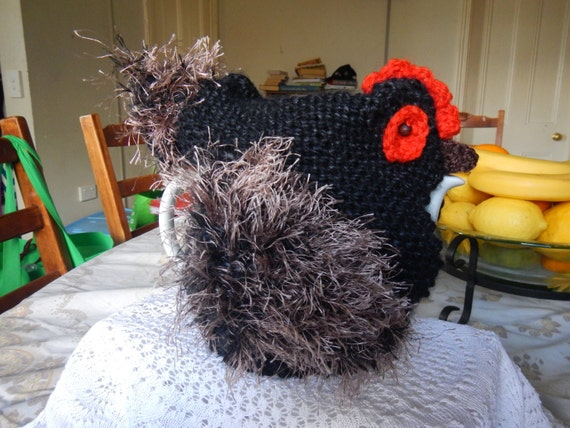 Knitted Chicken Tea Cosy