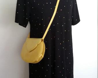 Polka dot dress, M, cotton pique dress, black dress, summer dress, sporty dress, cotton dress, pique dress, t shirt dress