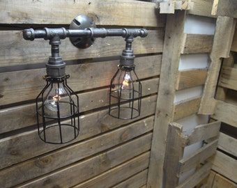 Lighting - Industrial Lighting - Steampunk Lighting - Industrial light - Bar Light - Industrial Chandelier - Ceiling light - Home Lighting