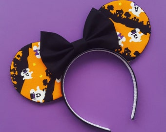 Ghost Mickey  Mouse Ears