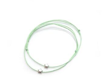 Friendship Bracelet Silver Star
