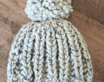 Knit Hat. Women's Knit Hat. Chunky Knit Hat. Women's Accessories. Chunky Knit Beanie