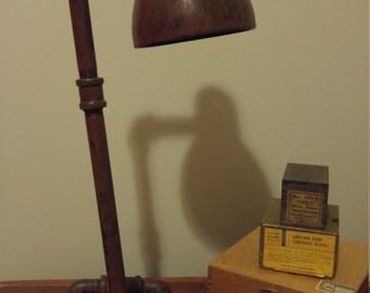 Funky Industrial Lamp