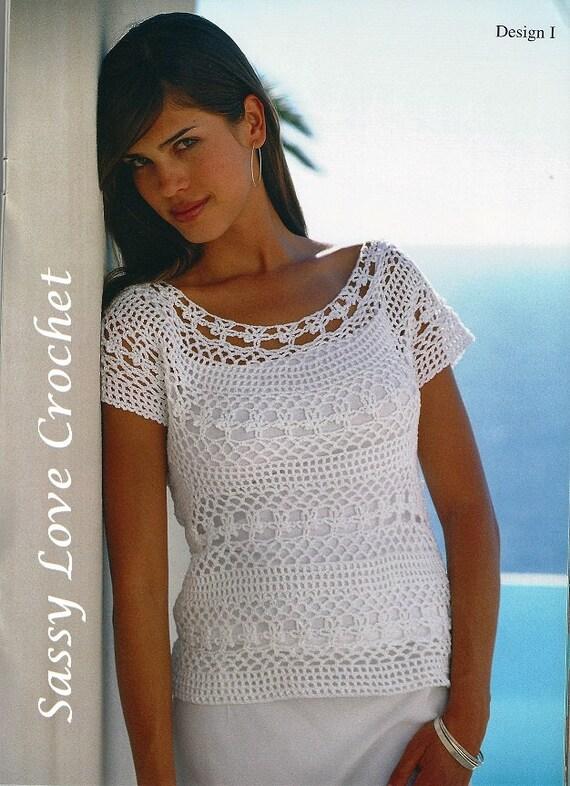 Crochet Lace Top Patternladies Women S Crochet