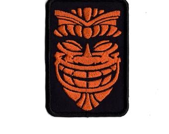 Tiki Mask Hawaiin  Style Patch   M5