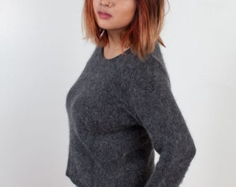 Vintage 90's Fuzzy Sweater