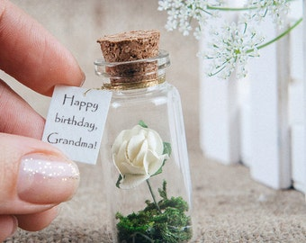 Happy birthday Grandma Birthday gift Thoughtful gift Personalized gift Tiny gift Grandmother Birthday present Gift for her Gift for mom